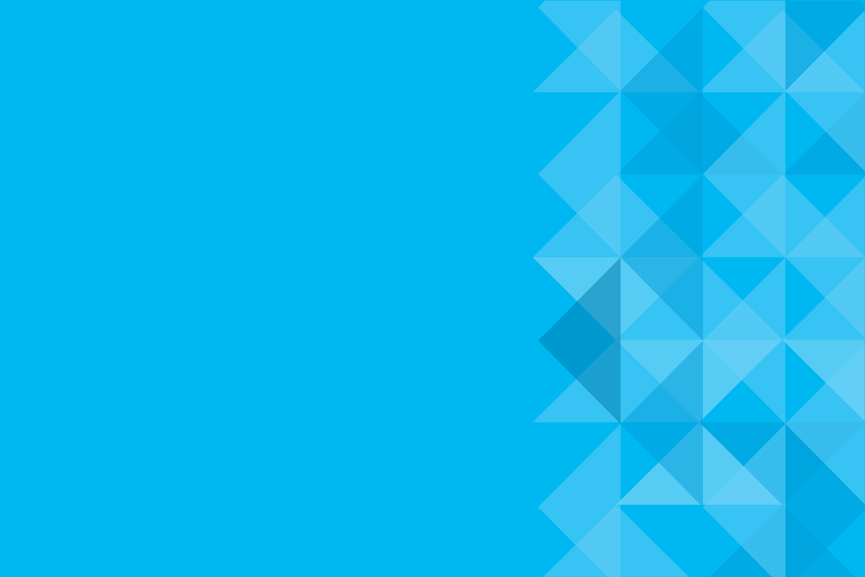 Blue Banner with Triangle copy
